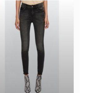 Zara | Z1975 Distressed Ankle Zip Skinny Jean